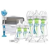 Dr. Brown's Options Plus Biberones de alimentación anticólicos para recién nacidos