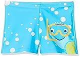 Speedo Inserto con Tommy Turtle Pantalón De Baño (Aquashort), Niños, Turquesa/Amarillo Brillante/Azul Marino, 2YRS