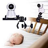 Soporte para Monitor de cámara para bebé, Soporte Giratorio Ajustable de 360 Grados, Mantenga a su bebé a la Vista, Adecuado para la mayoría de los Equipos de monitores para bebés