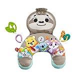 Fisher-Price Perezoso Cojín con música y vibraciones relajantes para bebé, incluye mordedor y actividade (Mattel GRR01)
