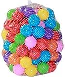 Hua Xin 100 Pelotas , Bolas de Colores Bolas de plastico niños Juguetes para bebés natación Pelotas natación para Niños Piscina
