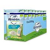 Almirón Cereales Infantiles Ecológicos Crema De Arroz. Pack Bolsas X200G- 1.6Kg, 8 Unidades
