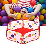 Piscina de Bolas para bebé, poliéster con Cesta de Tiro Piscina de Bolas para bebés, para niños Bebé(120CM Shooting Frame)