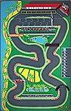 TAPITOM Alfombra Circuito para pequeños Coches - F1 Alfombra Infantil para Jugar 130 x 200 cm