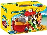 PLAYMOBIL- 1.2.3 Playset Maletín, Arca de Noé, Multicolor, 18m+ (6765)