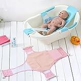 StillCool Recién Nacido Asiento baño del bebé Accesorios de baño de Soporte del Asiento baño de Ducha del bebé recién Nacido del bebé Baño de Seguridad (Azul)