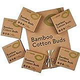 600 Ecoslurps Bastoncillos para Oídos de Bambú   Bastoncillos Ecológicos   Palillos Limpiadores de Oídos   Bastoncillos de Madera   Biodegradables cotonetes bastoncillo